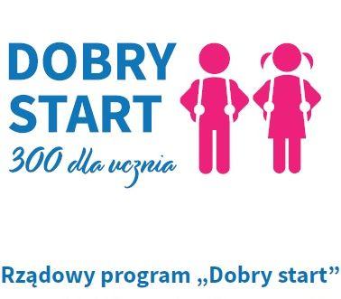 """Logo """"Dobry Start"""""""